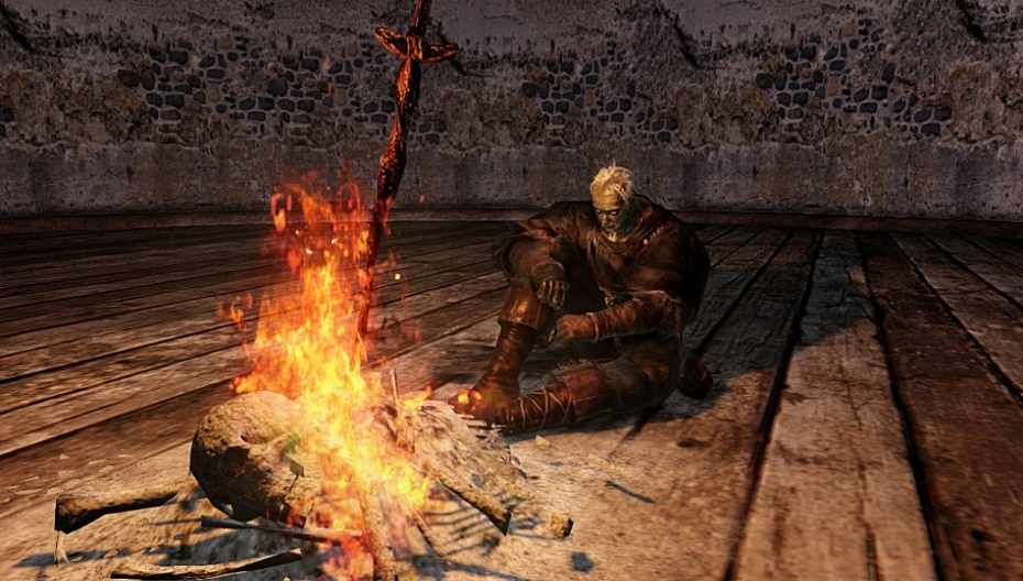 Dark-Souls-2-camp-fire