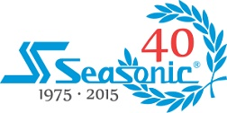 Seasonic 40 years logo