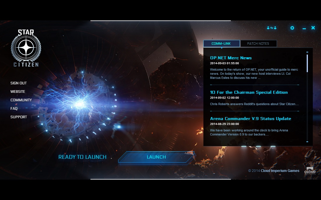 StarCitizen launcher